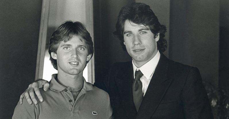 mick boskamp en John Travolta GERETOUCHEERD CUT